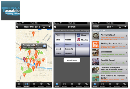 Tuscany Events - the app | WEBOLUTION! | Scoop.it
