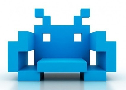 Les chaises Space Invader | CRAW | Scoop.it