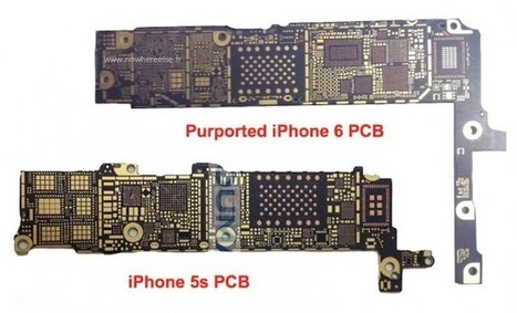 Alleged iPhone 6 Circuit Board Boasts NFC Chip | iCydiaOS | Scoop.it