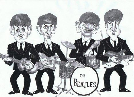 Dibujos de Theodor: The Beatles | The beatles | Scoop.it