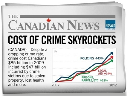 Cost of Canada's Policing Soars, Even amid Falling Crime | Info Carousel | Scoop.it