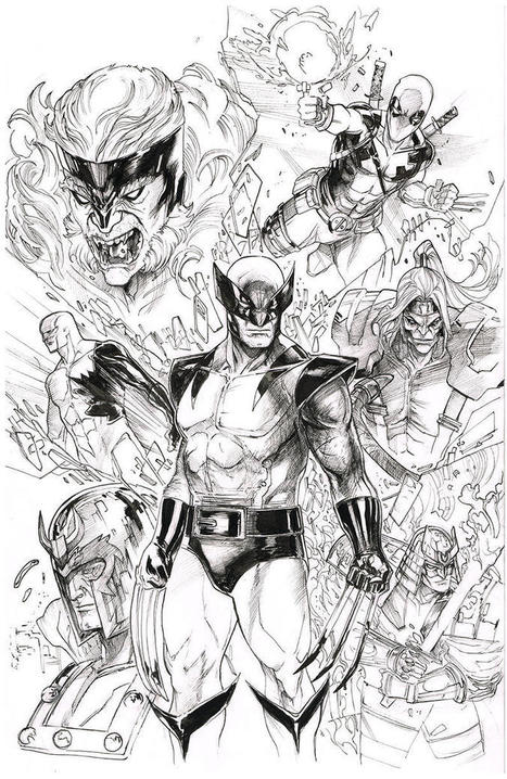 Awesome Art Picks: Batman, Wolverine, Harley Quinn, and More | Comic Book Trends | Scoop.it