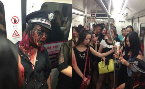 Zombie Invasion on Subway Leads To Online Complaining | MY MAGAZINE | Scoop.it