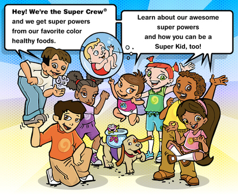 Super Kids Nutrition Super Crew for Kids | Educational websites to use at home | Scoop.it
