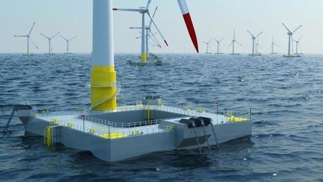 Lifes50+ : Vers des éoliennes flottantes de très ... - Mer et Marine - Meretmarine.com | Energies Renouvelables scooped by Bordeaux Consultants International | Scoop.it
