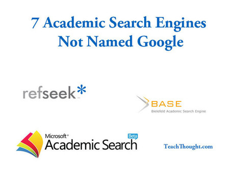 7 Academic Search Engines Not Named Google | Inquiry-Based Learning and Research | Scoop.it