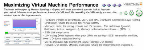 Maximizing Virtual Machine Performance - ESX Virtualization | LdS Innovation | Scoop.it