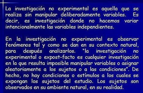 NoExperimental.jpg (608x397 pixels) | Investigación no experimental, cuasi experimental y experimental. | Scoop.it