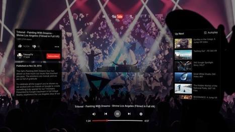 YouTube VR est disponible sur le Play Store pour des vidéos en réalité virtuelle - FrAndroid | Actions culturelles interactives | Scoop.it