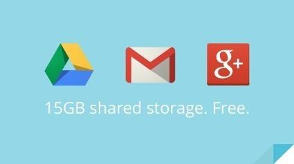 Google unifica el almacenamiento en la nube, ahora 15 GB para Drive, Google+ Photos y Gmail | Recull diari | Scoop.it