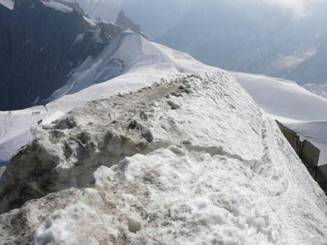 Coup de chaud à l'aiguille du Midi | Montagne et Tourisme d'Aventure | Scoop.it