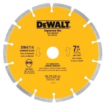 DEWALT DW4714 Industrial 7-Inch Dry Cutting ... - dimond blade | Best Product Reviews | Scoop.it
