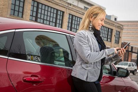 Avec Maven, GM devient un peu moins constructeur automobile et un peu plus service d'auto-partage | Les mutations numériques | Scoop.it