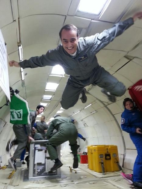 Vuelos de gravedad cero: ¿Cómo se consigue ingravidez en un avión? | Ciència | Scoop.it