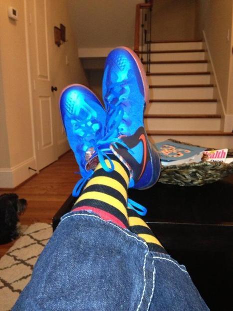 Twitter / chaseilten: Rocking some crazy socks to ... | men's fashion | Scoop.it