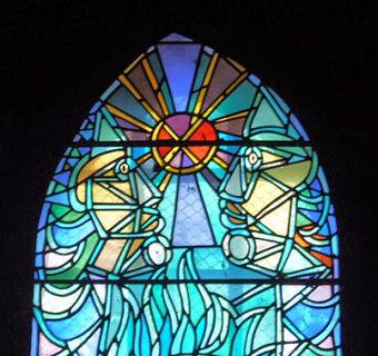 les vitraux de cocteau dans l'eglise saint maximin de metz | miseauverre.com | Scoop.it