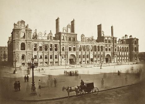 PARIS UNPLUGGED: 1871 - L'incendie de l'Hôtel de Ville | GenealoNet | Scoop.it