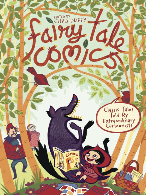 My Son's New Obsession:  Fairy Tale Comics Edited by Chris Duffy | Raising Readers | Scoop.it