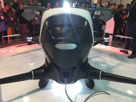 This is the world's first electric drone that you can actually ride in — and it also flies itself | Olli's Digest | Scoop.it