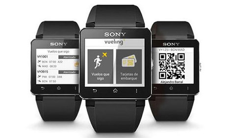 Vueling partners with Sony to offer first smartwatch boarding pass   Travel and Technology   Scoop.it