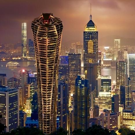 Vasily Klyukin Proposes Asian Cobra Tower | World Architecture | Scoop.it