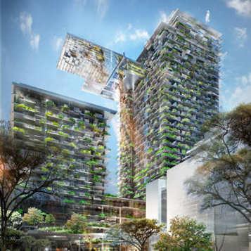 Sarà Sydney ad ospitare i 166m del giardino verticale più alto al mondo - Rinnovabili | Gli alberi nei giardini | Scoop.it