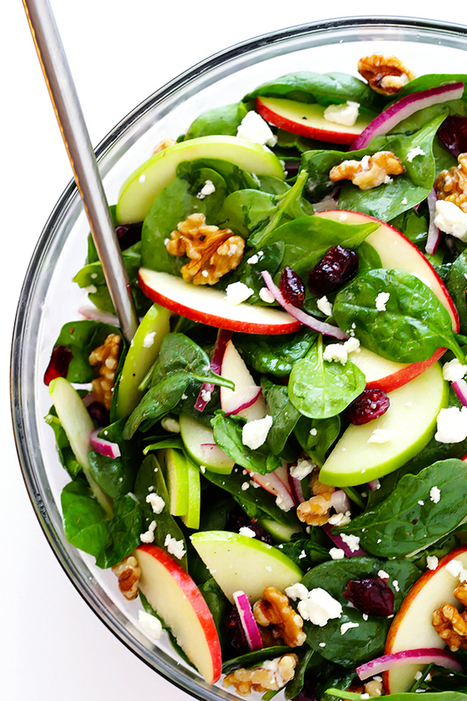 My Favorite Apple Spinach Salad | Gimme Some Oven | Passion for Cooking | Scoop.it
