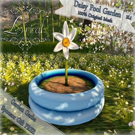 Daisy Pool Garden Gimme Gacha Group Gift by Lyrical | Teleport Hub - Second Life Freebies | Second Life Freebies | Scoop.it