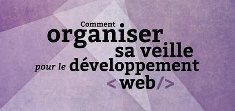 Comment organiser sa veille pour le développement Web | Infodoc, Veille et e-reputation | Scoop.it