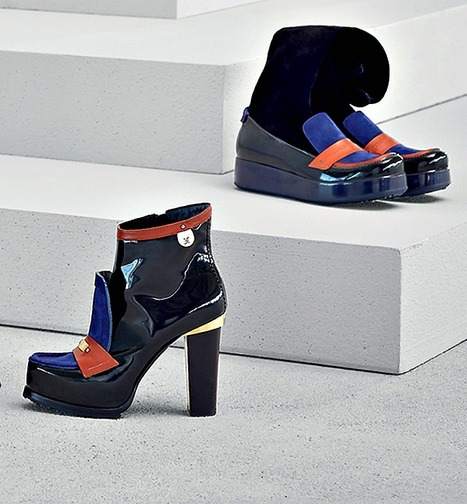 Fabi Color block shoes | Le Marche & Fashion | Scoop.it