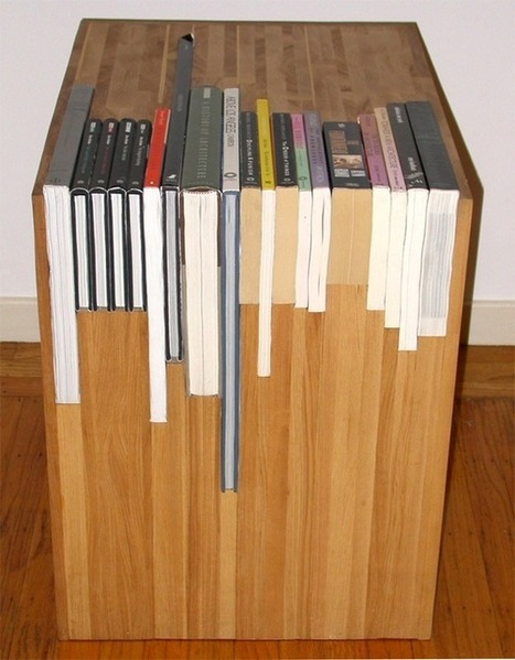 Customized book side tables | Crafts to Try | Scoop.it