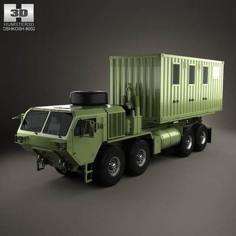3D model of Oshkosh M1120A4 Load Handling System 2011   3D models   Scoop.it