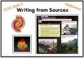 Cool Tools for 21st Century Learners: Common Core Connections: Halloween Writing | 21st Century Research and Information Fluency | Scoop.it