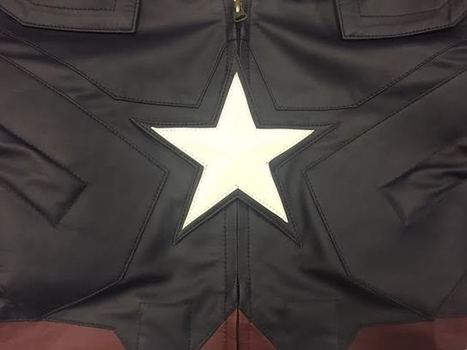 Review: Angel Jackets' Captain America Leather Jacket | Hollywood Update News | Scoop.it