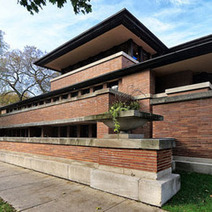 Robie House Named Among Buildings That Changed America; See It After Dark In April | Frank Lloyd Wright Robie House | Scoop.it