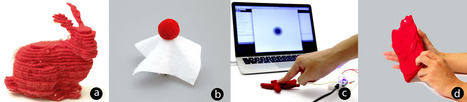 A layered fabric 3D printer for soft interactive objects | Amazing Science | Scoop.it
