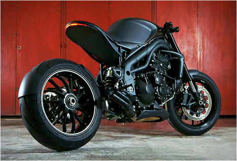 TRIUMPH SPEED RACER ~ Grease n Gasoline   Motor   Scoop.it