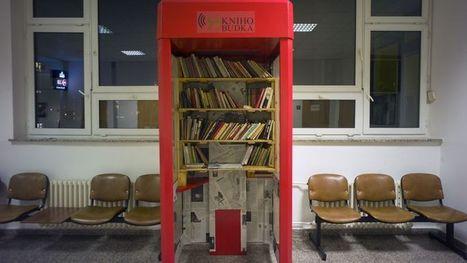 Les cabines téléphoniques, bibliothèques du XXIe siècle   Adultes   Scoop.it
