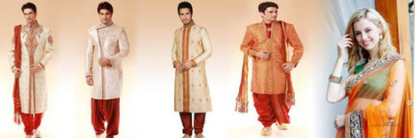 Indian Men Collection Online   Buy Online: Indian Products, Dresses, Sarees – NriBestBuy   Scoop.it
