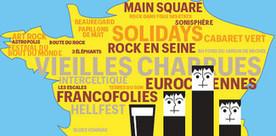 Infographie : bilan des festivals d'été 2013 | festival musique IDF | Scoop.it