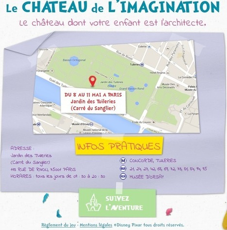 [Enfants] Disneyland Paris érige un château au cœur de Paris | Communication - Paris_Mode Pause | Scoop.it