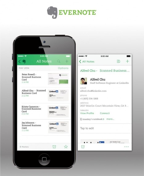 Evernote + LinkedIn: bigliettino da visita 2.0 - SocialDaily Italia | Social Daily | Scoop.it