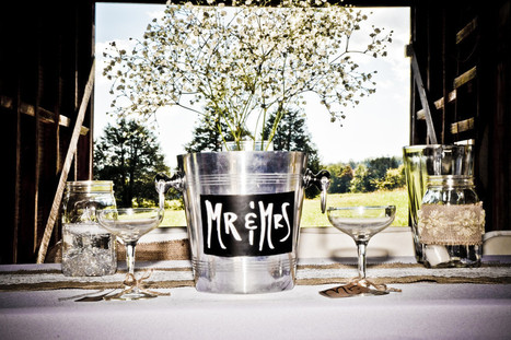 Another great example of Rustic Wedding Decor - Dodson Orchards | Rustic Chic Wedding | Scoop.it
