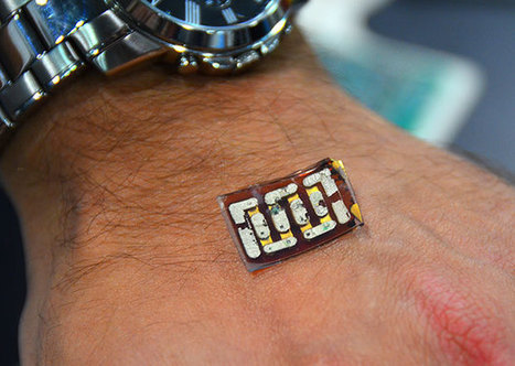 Power Harvesting Sensor Patch Uses Your Body As a Battery | I didn't know it was impossible.. and I did it :-) - No sabia que era imposible.. y lo hice :-) | Scoop.it