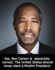 Hurrah for Dr. Ben Carson, Do you agree with Ben Carson's Muslim comments? NO Presidential Candidate Can Approve Harming 'dimmis' aka Nonmuslims' www.fedup.org | News You Can Use - NO PINKSLIME | Scoop.it