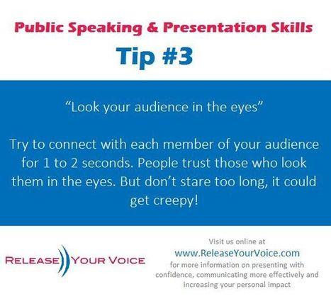 Public Speaking & Presentation Skills from Release Your Voice | presentation skills | Scoop.it