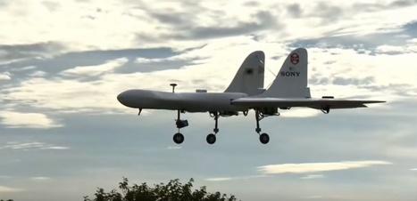 VIDEO. Vol inaugural pour le drone à décollage vertical de Sony | Post-Sapiens, les êtres technologiques | Scoop.it