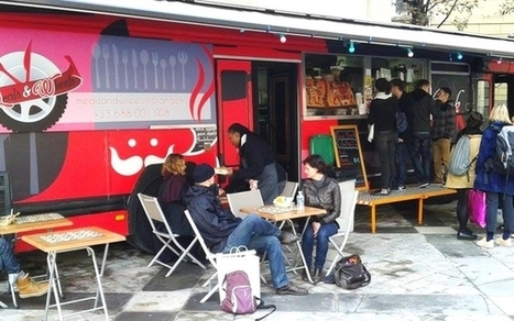Des étudiants lancent Auparager, un food truck anti gaspillage | ParisBilt | Scoop.it