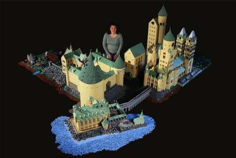 Amazing Mom Built Detailed Model of Hogwarts with 400,000 LEGO Bricks | Heron | Scoop.it
