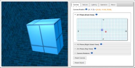 De la modélisation 3D dans un navigateur | Libre de faire, Faire Libre | Scoop.it